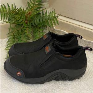 MERRELL 8 Jungle Moc Comp Toe Work Slip On Shoe